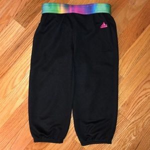 Adidas girls softball pants small Climate
